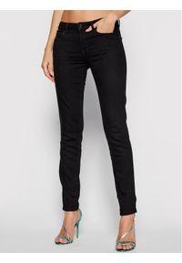 Guess Jeansy Curve X W1YAJ2 D4F51 Czarny Shaping Fit. Kolor: czarny
