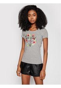 Guess T-Shirt Rebecca W1GI0N J1311 Szary Slim Fit. Kolor: szary