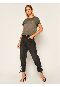 Guess T-Shirt Ivonne W0YI24 K46D1 Szary Regular Fit. Kolor: szary