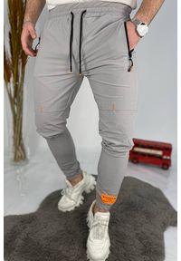 Szare spodnie IVET sportowe, na co dzień