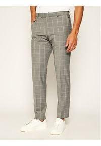 Strellson Spodnie garniturowe 11 Mercer2.012 30020634 Szary Slim Fit. Kolor: szary