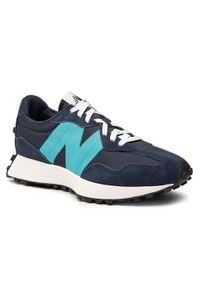 New Balance - Sneakersy NEW BALANCE - MS327FD Granatowy. Kolor: niebieski. Materiał: skóra, materiał, zamsz