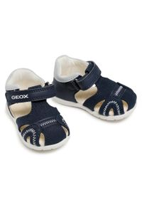Geox - Sandały GEOX - B Elthan B. A B151PA 05410 C4064 Navy. Kolor: niebieski. Materiał: materiał. Sezon: lato. Styl: klasyczny