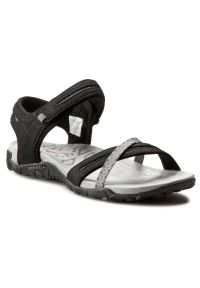 Czarne sandały Merrell sportowe