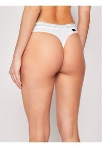 Białe stringi Calvin Klein Underwear