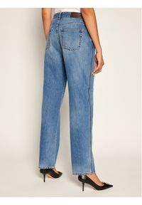 Victoria Victoria Beckham Jeansy Relaxed Fit 2320DJE001376A Granatowy Relaxed Fit. Kolor: niebieski. Materiał: jeans