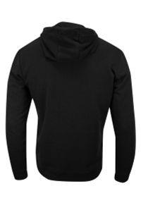 Czarny sweter Brave Soul sportowy, z kapturem