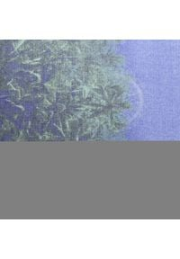 Desigual - Szal DESIGUAL - 20WAWA19 2024. Kolor: niebieski. Materiał: poliester, materiał
