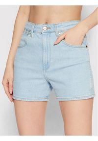 Niebieskie szorty jeansowe Wrangler