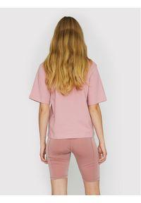 ROTATE T-Shirt Aster RT455 Różowy Loose Fit. Kolor: różowy