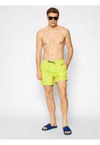 North Sails Szorty kąpielowe Volley Allover 673476 Żółty Regular Fit. Kolor: żółty #5