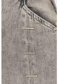 Szare jeansy loose fit Patrizia Pepe klasyczne