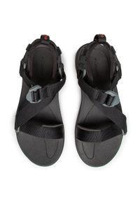 Czarne sandały trekkingowe columbia na lato