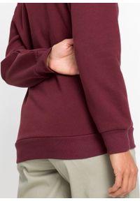 Czerwona bluza bonprix z kapturem, z motywem z bajki