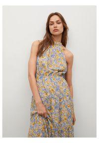 Sukienka letnia mango w kolorowe wzory