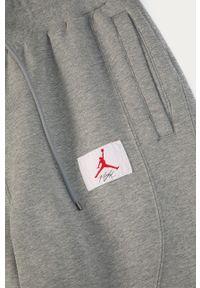 Szare spodnie dresowe Jordan gładkie