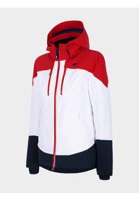 Czerwona kurtka narciarska 4f na zimę, Dermizax