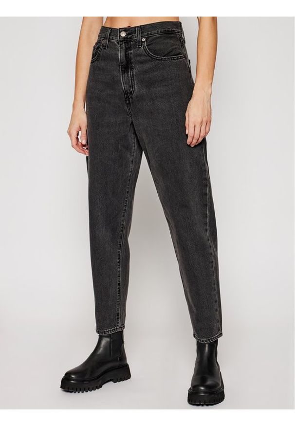Levi's® Jeansy High Loose Taper 17847-0005 Szary Relaxed Fit. Kolor: szary