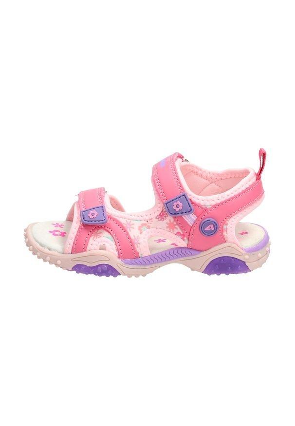 Różowe sandały American Club sportowe