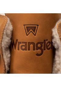 Brązowe trapery Wrangler z cholewką
