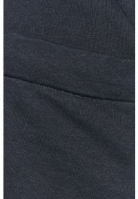 Niebieskie szorty Selected gładkie, casualowe, na co dzień