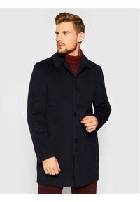 Niebieski płaszcz przejściowy Roy Robson