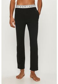 Czarna piżama Polo Ralph Lauren z nadrukiem