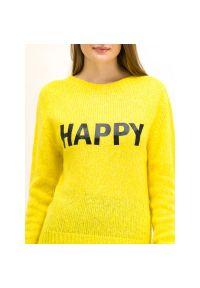 Żółty sweter My Twin