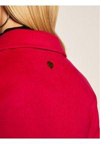 Różowy płaszcz przejściowy TwinSet