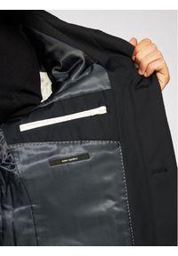 Niebieski płaszcz przejściowy Strellson #6