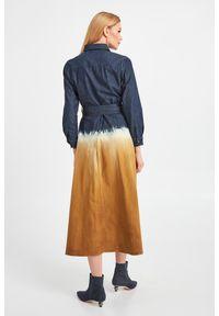 Sukienka Weekend Max Mara z długim rękawem, koszulowa, midi