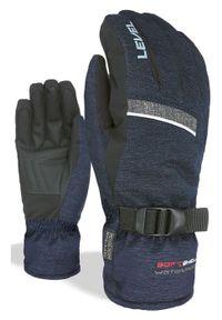 Level Rękawice narciarskie męskie Hero blue grey. Sport: narciarstwo