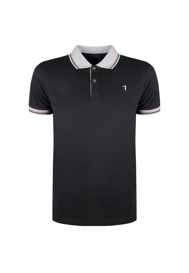 Koszulka polo Trussardi Jeans polo, casualowa