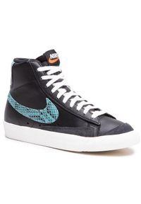 Nike Buty Blazer Mid '77 Vntg We Reptile CI1176 001 Czarny. Kolor: czarny