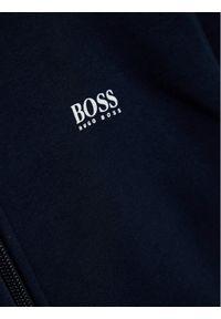 BOSS - Boss Bluza J25G77 S Granatowy Regular Fit. Kolor: niebieski