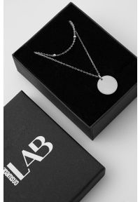 Answear Lab - Naszyjnik srebrny. Materiał: srebrne. Kolor: srebrny