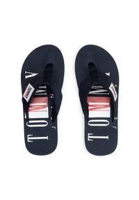 Tommy Jeans Japonki Beach Sandal EM0EM00691 Granatowy. Kolor: niebieski