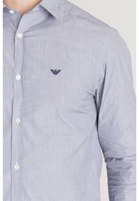 Koszula Emporio Armani na lato, casualowa, na co dzień