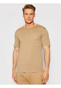 Imperial T-Shirt TG43BCKTD Brązowy Regular Fit. Kolor: brązowy