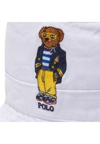 Polo Ralph Lauren - Kapelusz POLO RALPH LAUREN - Bucket Loft 710834756002 White. Kolor: biały. Materiał: materiał, bawełna