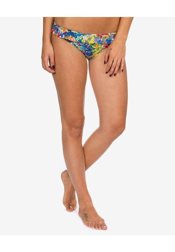 Wielokolorowy strój kąpielowy dwuczęściowy Stella McCartney w kolorowe wzory