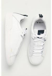 Białe buty sportowe ARKK Copenhagen z cholewką, na sznurówki