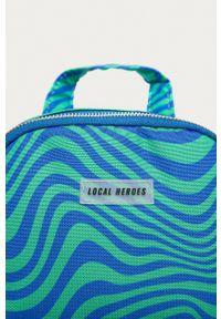 Local Heroes - Plecak. Kolor: niebieski