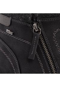 Czarne buty zimowe Go Soft eleganckie, z cholewką