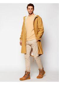 Brązowa kurtka przeciwdeszczowa Rains casualowa, na co dzień