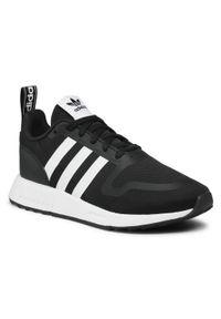 Adidas - Buty adidas - Multix J G55537 Cblack/Ftwwht/Cblack. Zapięcie: sznurówki. Kolor: czarny. Materiał: skóra, materiał. Szerokość cholewki: normalna. Styl: klasyczny
