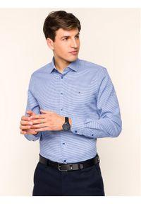 Niebieska koszula biznesowa Tommy Hilfiger Tailored