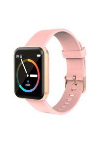 Różowy zegarek LENOVO smartwatch