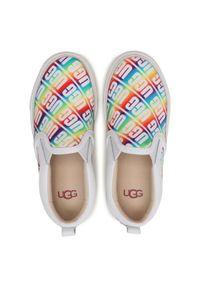 Ugg Tenisówki K Caplan Slip-On Ugg 1107976K Biały. Zapięcie: bez zapięcia. Kolor: biały