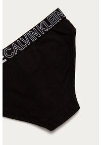 Czarne majtki Calvin Klein Underwear z nadrukiem